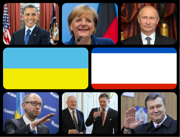 Ukrajina a Krym