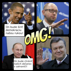 Obama a putin o ukrajine